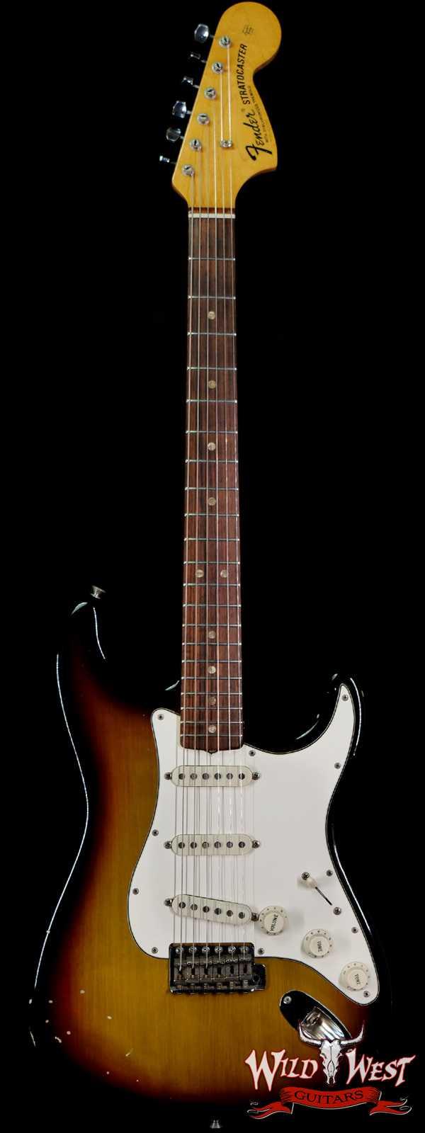 1970 Fender Stratocaster in Sunburst Owned by Joe Bonamassa