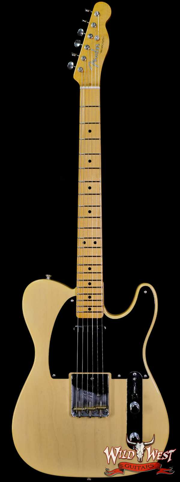 Fender Custom Shop 70th Anniversary Broadcaster NOS Time Capsule Hand-Wound Pickups Nocaster Blonde