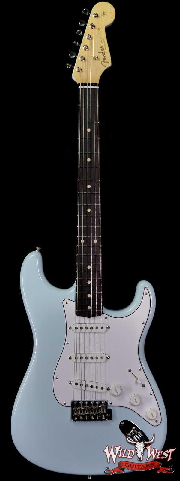 Fender Custom Shop 1961 Stratocaster NOS Hand-Wound Pickups Matching Color Neck Sonic Blue
