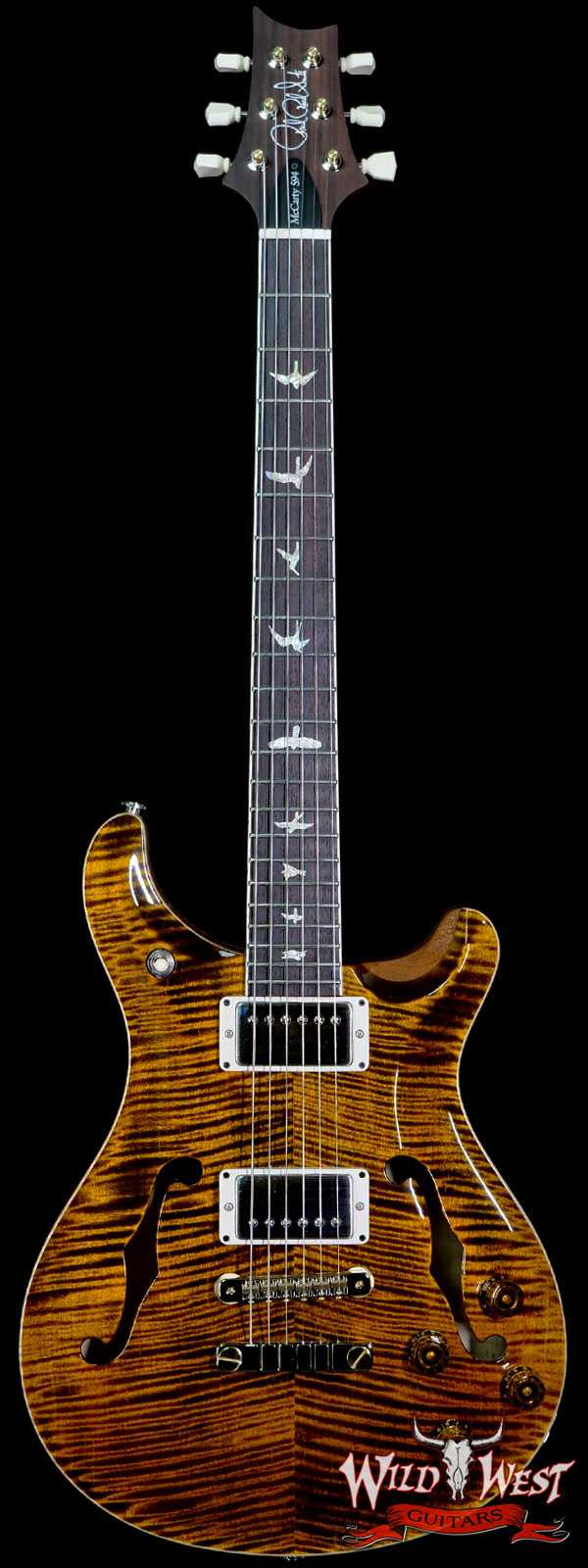 Paul Reed Smith PRS Core McCarty 594 Hollowbody II HB2 Yellow Tiger