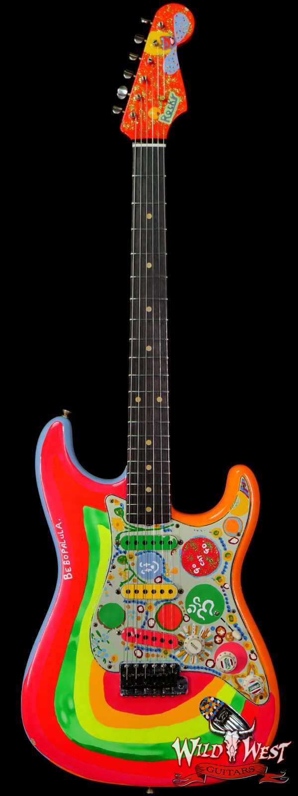Fender Custom Shop Limited Editon George Harrison Rocky Strat Stratocaster Masterbuilt by Paul Waller Painted by Pamelina H.