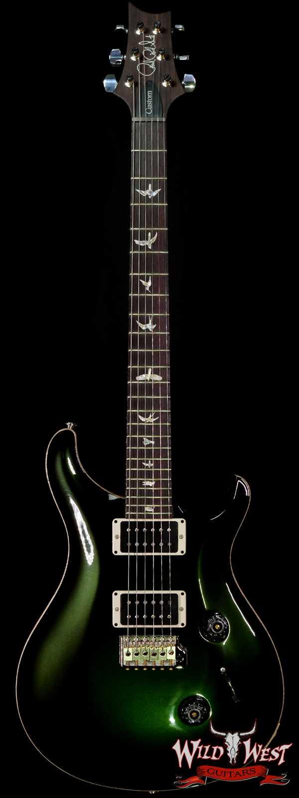 Paul Reed Smith PRS Core Custom 24 Pattern Thin Neck Dark Emerald Green Metallic