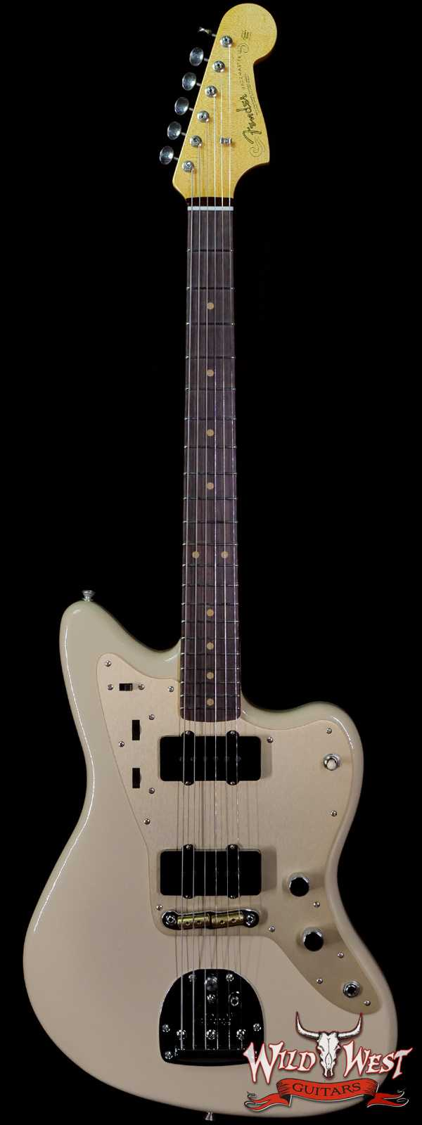 Fender Custom Shop 2021 Summer Event Limited Edition 250K 1959 Jazzmaster Hand-Wound Pickups DLX Closet Classic Dessert Sand
