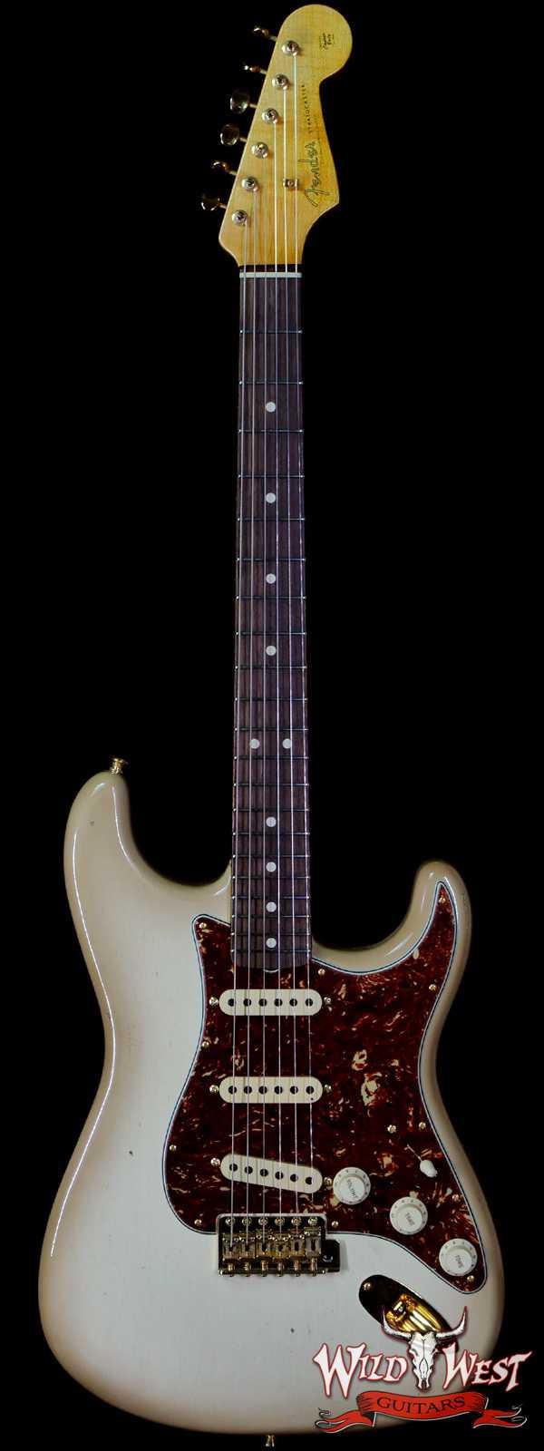 Fender Custom Shop Yuriy Shishkov Masterbuilt 60's Stratocaster Josefina Hand-Wound Pickups Journeyman Relic Antigua