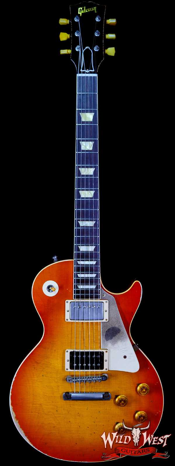 """2017 Gibson Custom Shop True Historic Limited #46 of 50 Slash 1958 Les Paul """"First Standard"""" #8 3096 Replica Aged Signed"""