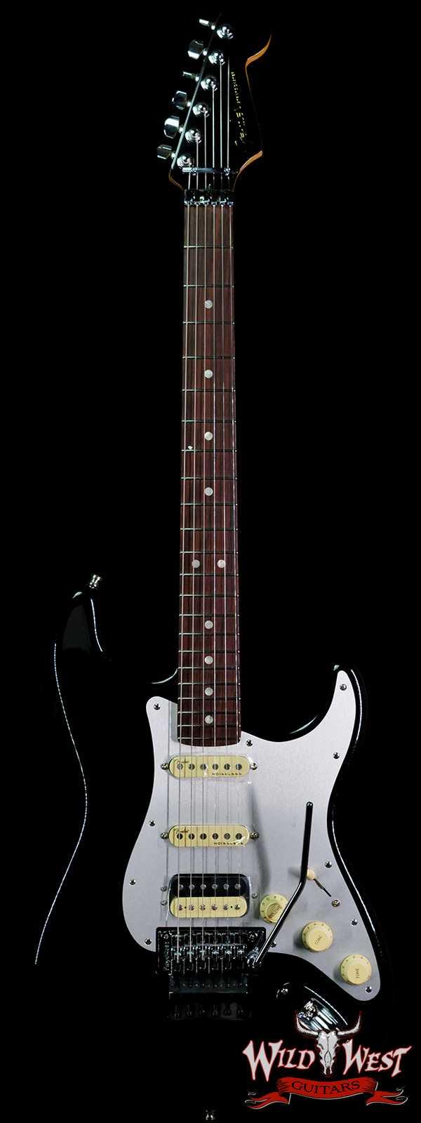 Fender American Ultra Luxe Stratocaster Floyd Rose HSS Rosewood Fingerboard Mystic Black (Blemish)