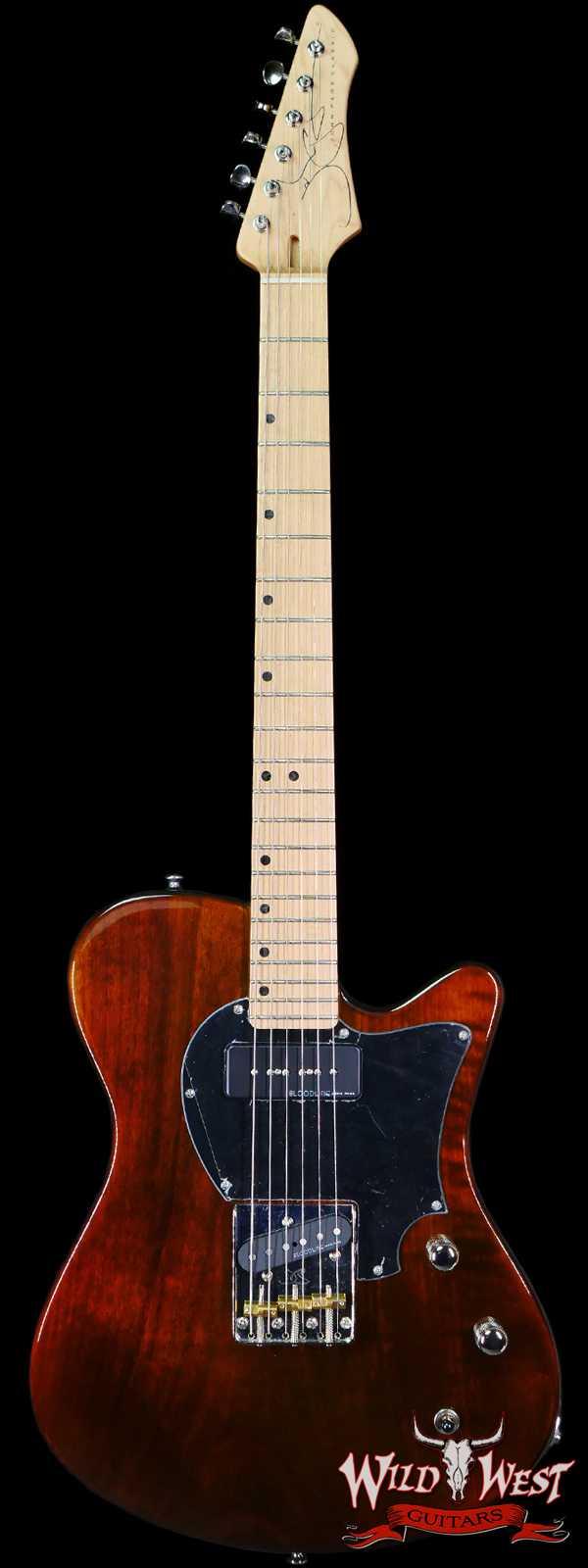 John Page Classic USA AJ Maple Fingerboard P90 Tobacco