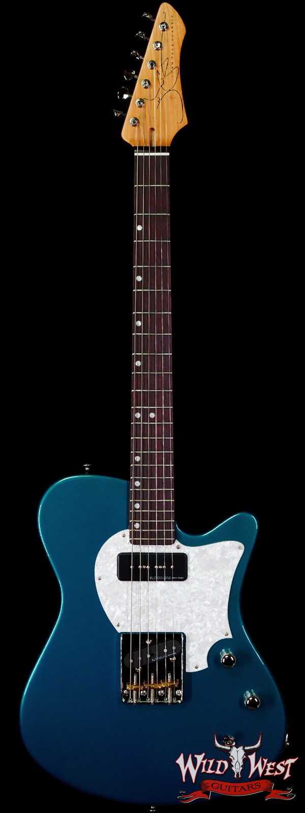 John Page Classic USA AJ P90 Rosewood Fingerboard Candy Apple Teal