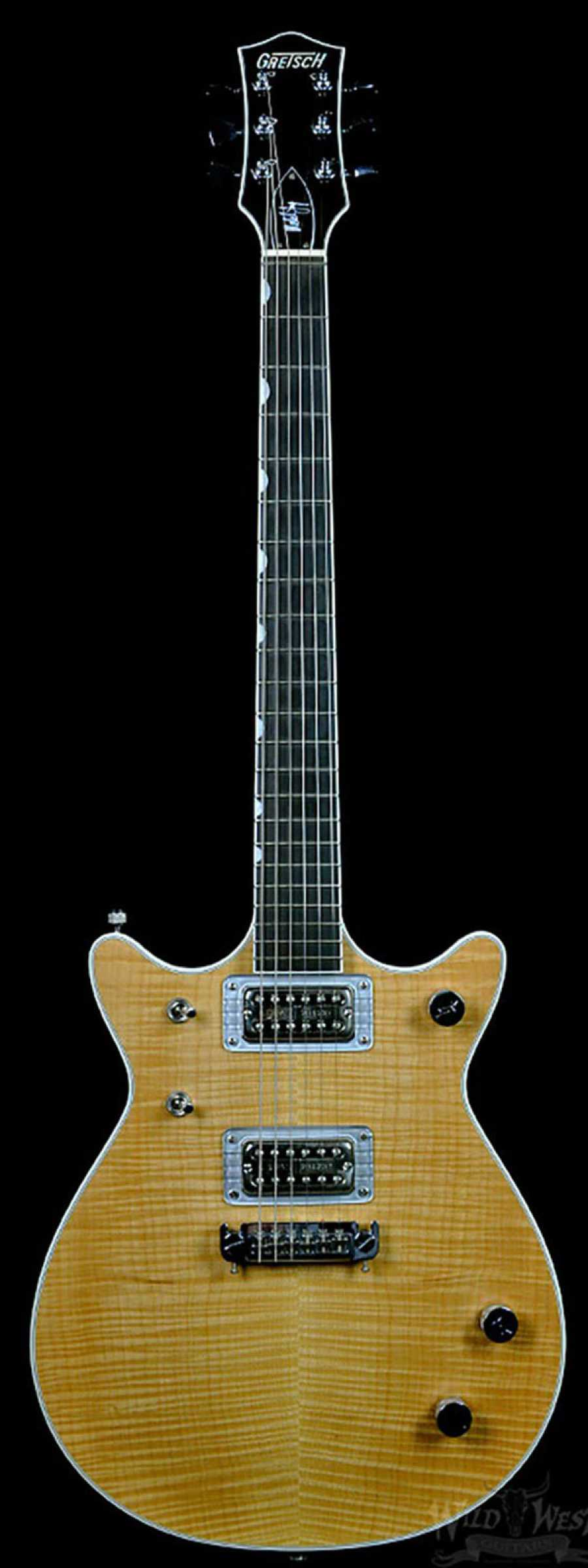 gretsch g6131my malcolm young ii signature natural flame maple preowned wild west guitars. Black Bedroom Furniture Sets. Home Design Ideas