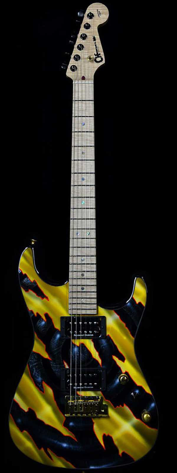 Charvel Custom Shop San Dimas With Ernie Pedregon Custom Paint