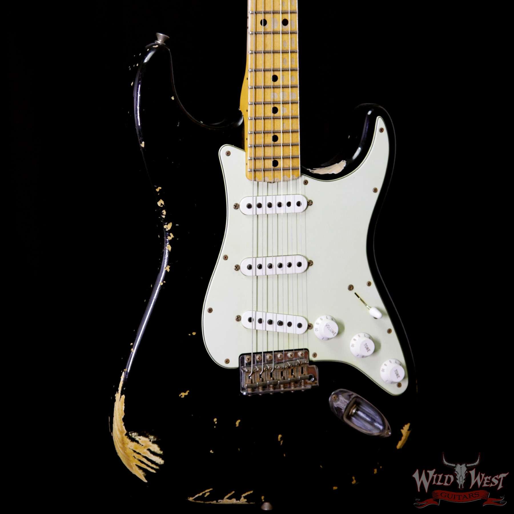 Fender 1969 Stratocaster Heavy Relic Black