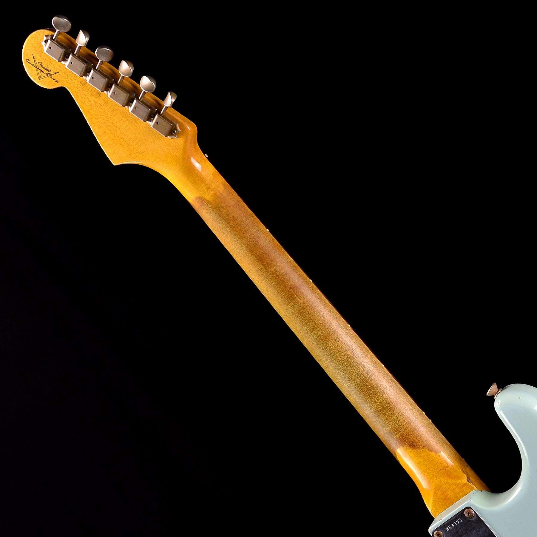 Fender CS 1962 Stratocaster Relic Sonic Blue Preowned