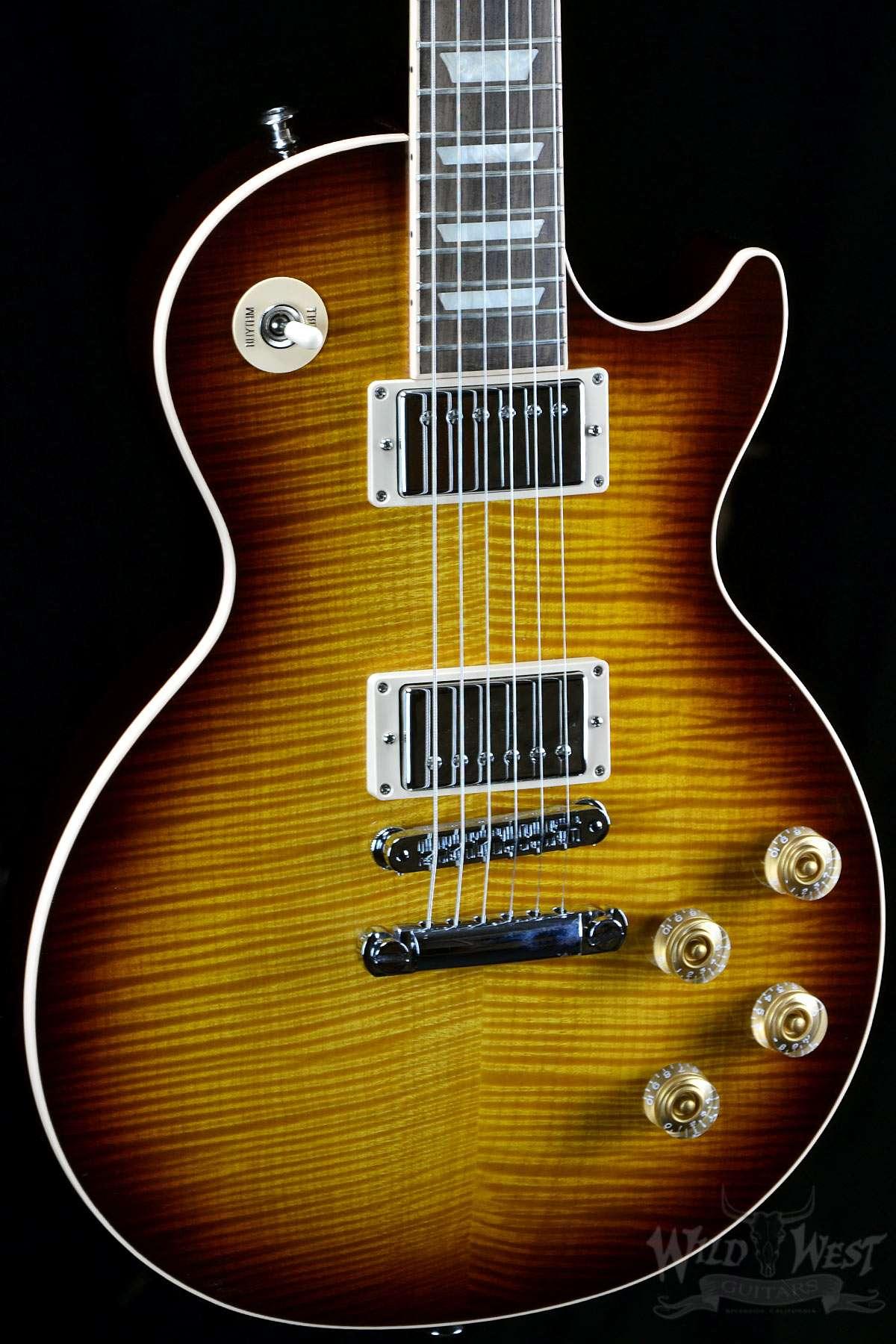 2014 Gibson Les Paul Standard Plus Tobacco Burst Aaaa