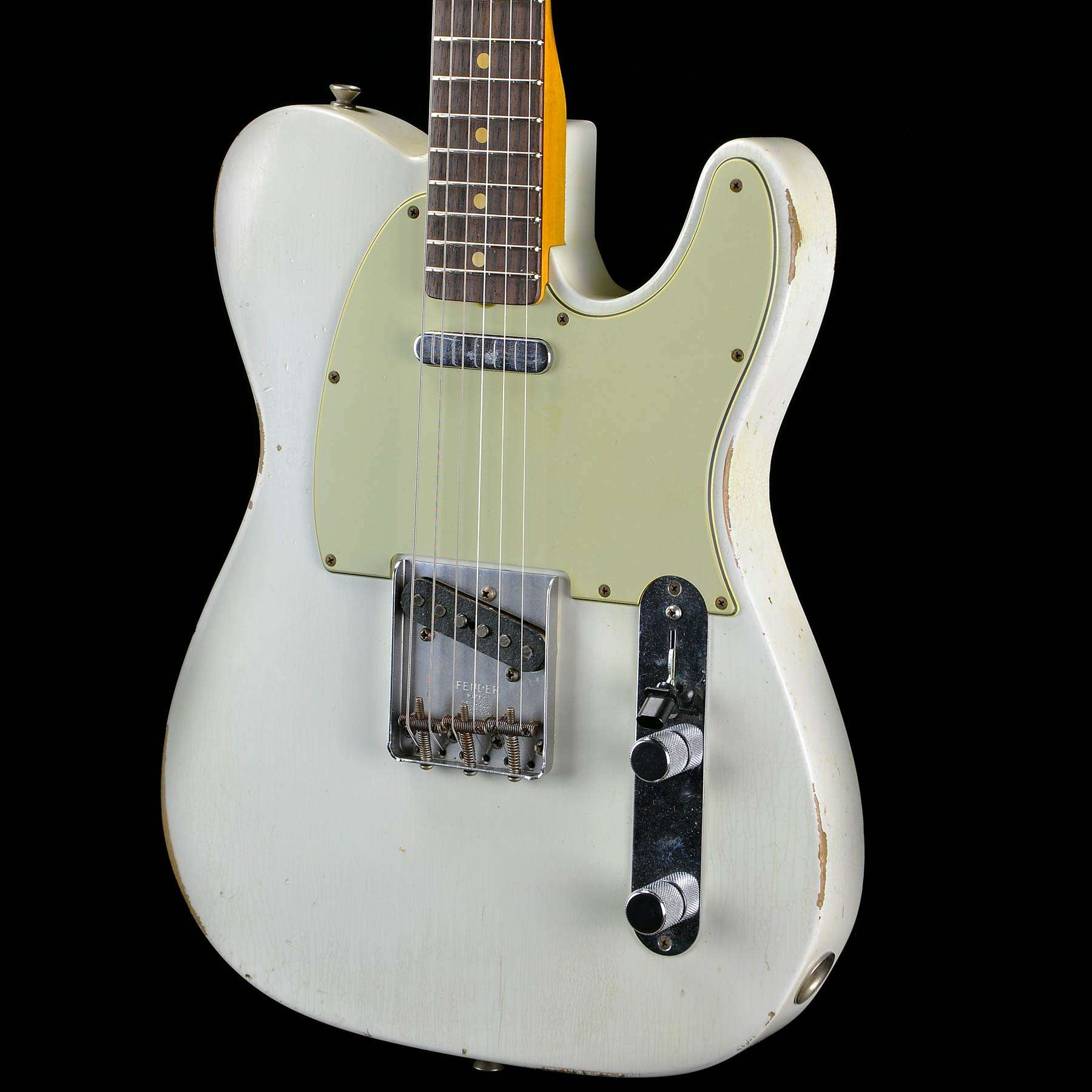 Fender Custom Shop 2015 Collection 1963 Telecaster Olympic White ...