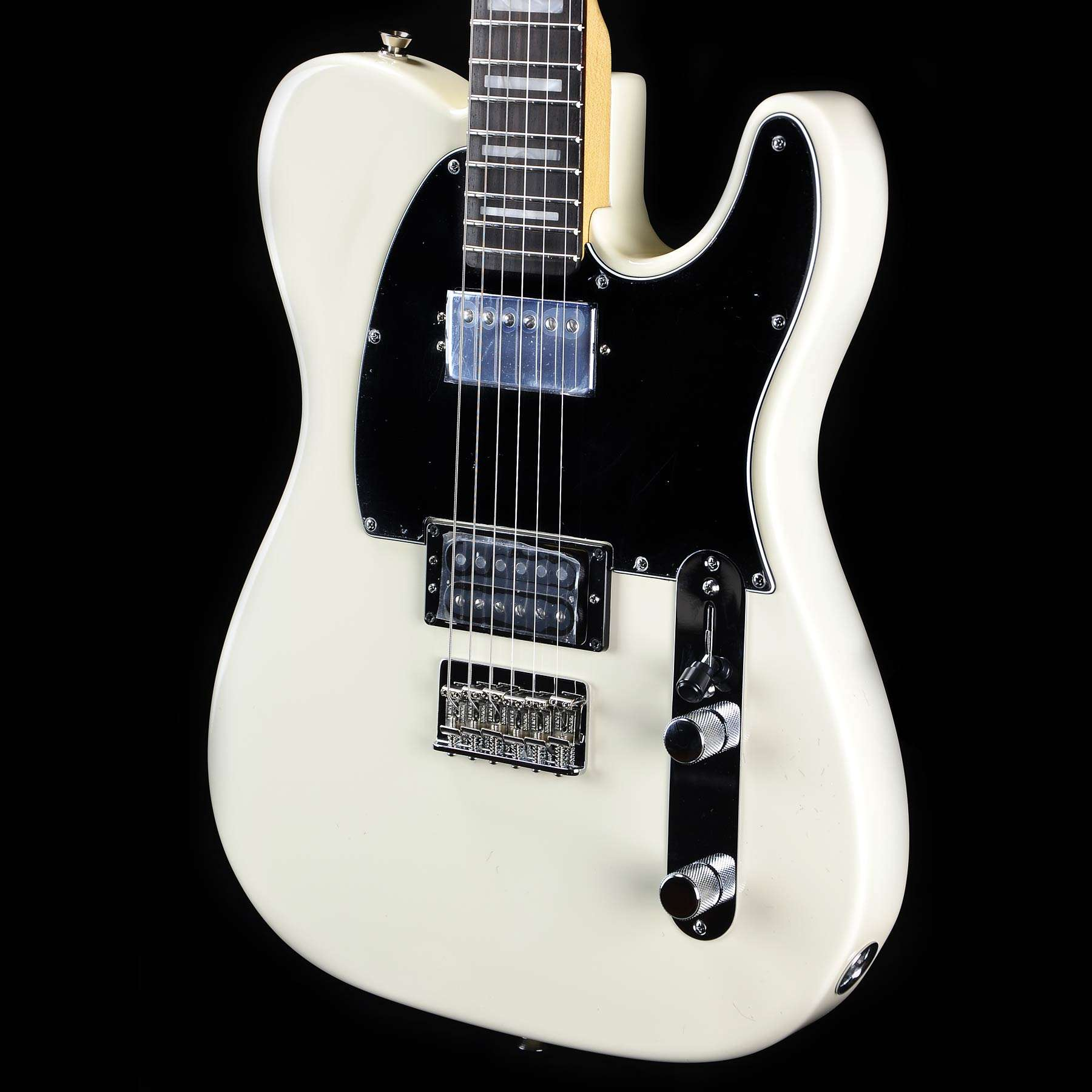 fender limited edition american standard telecaster hh olympic white wild west guitars. Black Bedroom Furniture Sets. Home Design Ideas