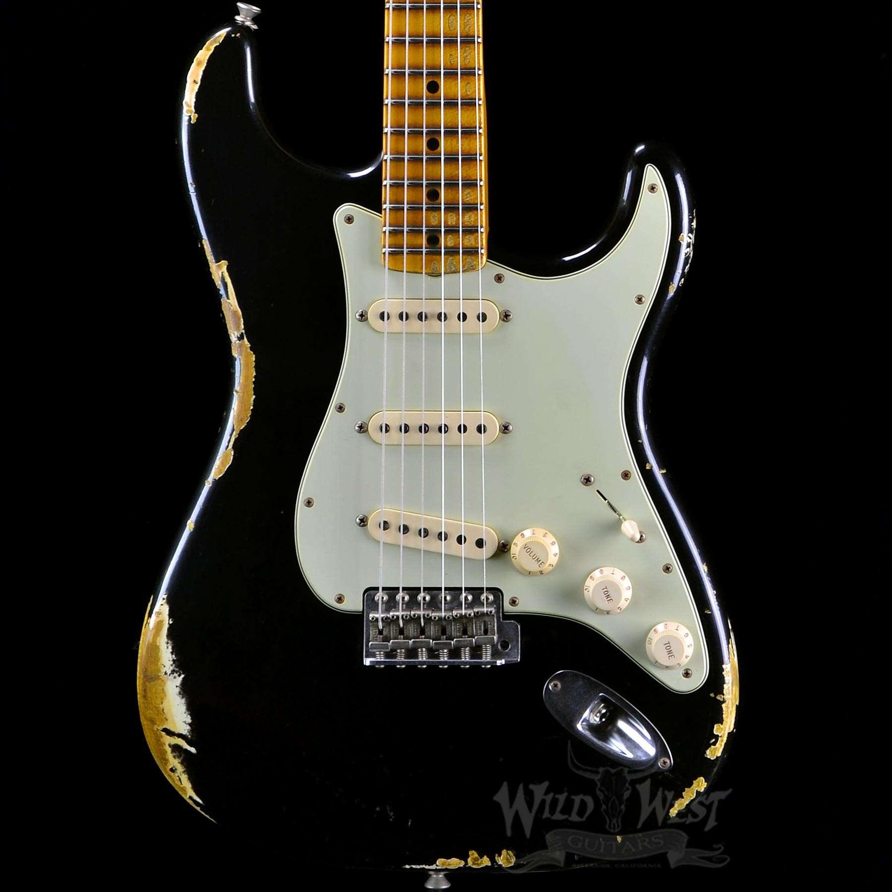 Fender 1969 Heavy Relic Stratocaster Faded Black