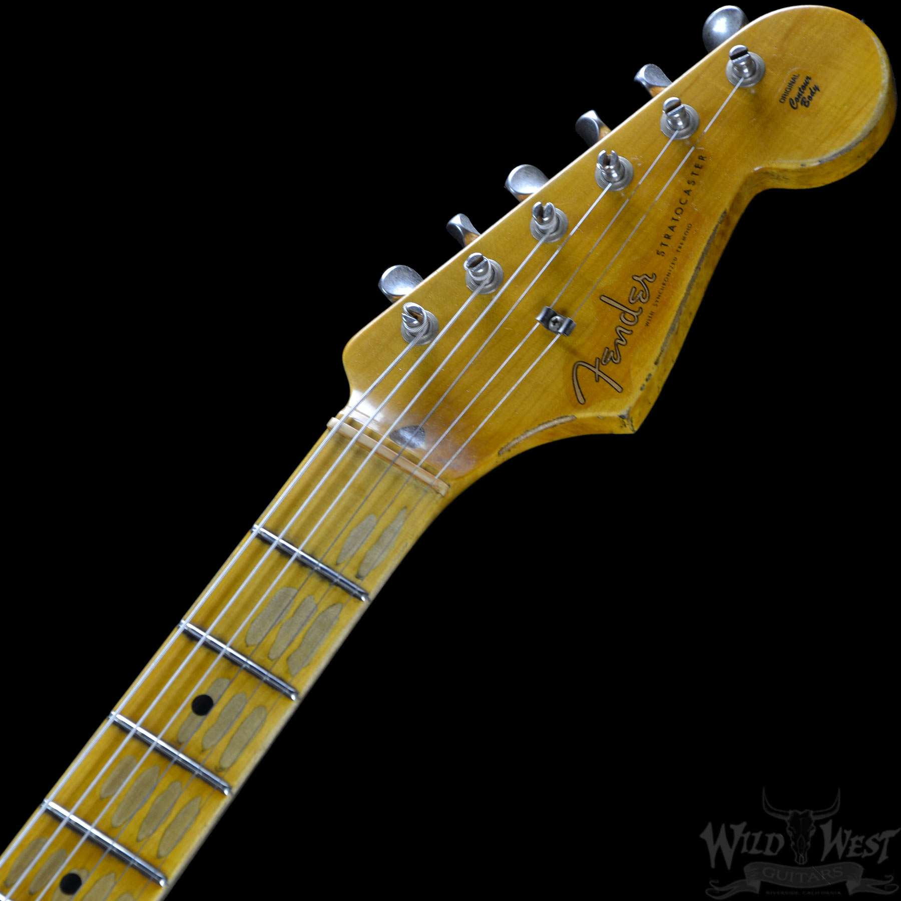 Fender 1956 Stratocaster Heavy Relic AA Flame Maple Neck Vintage