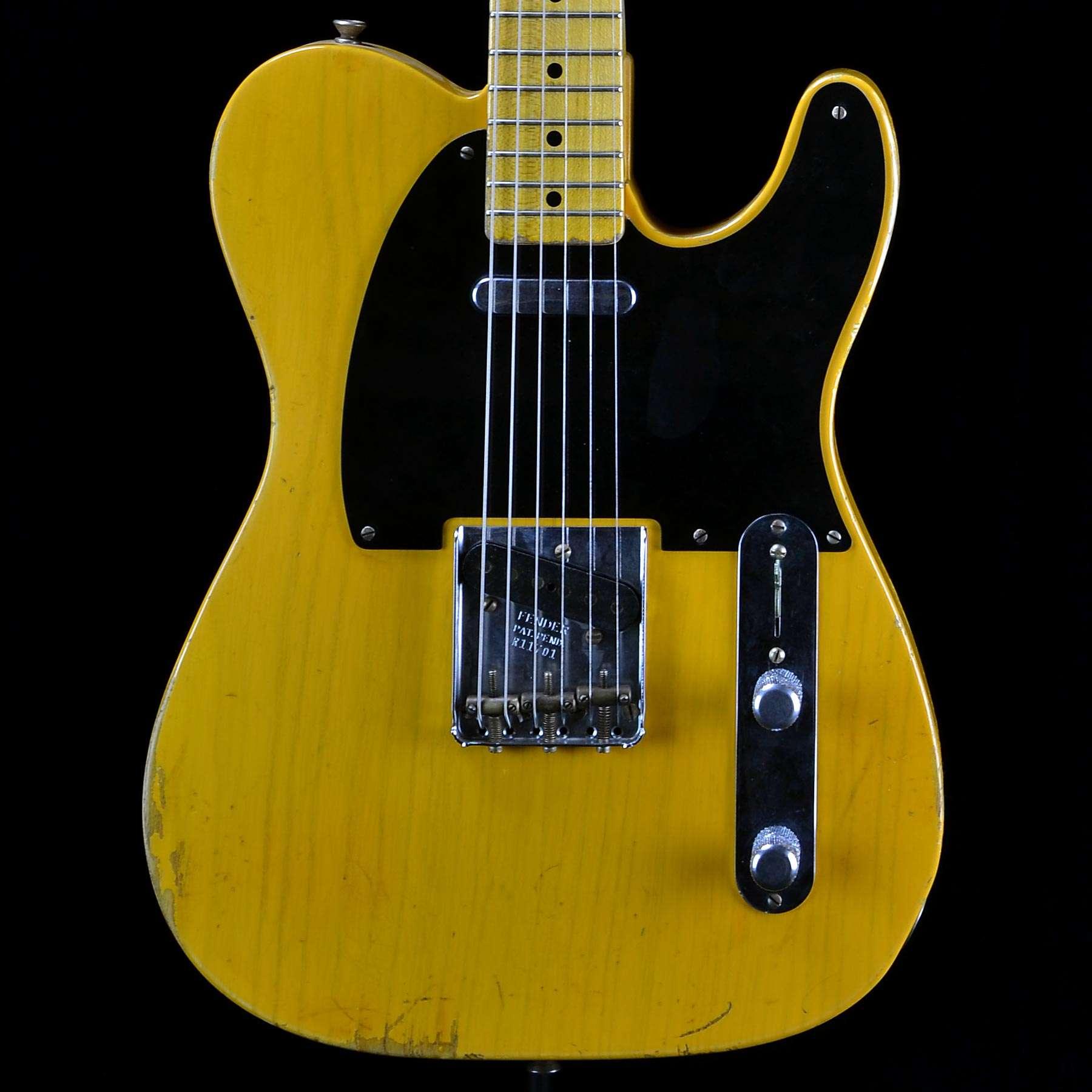 fender 1951 nocaster heavy relic butterscotch blonde wild west guitars. Black Bedroom Furniture Sets. Home Design Ideas