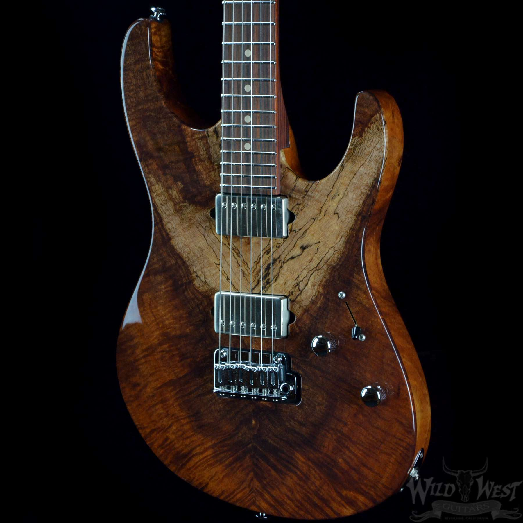 suhr custom modern natural curly koa wild west guitars. Black Bedroom Furniture Sets. Home Design Ideas