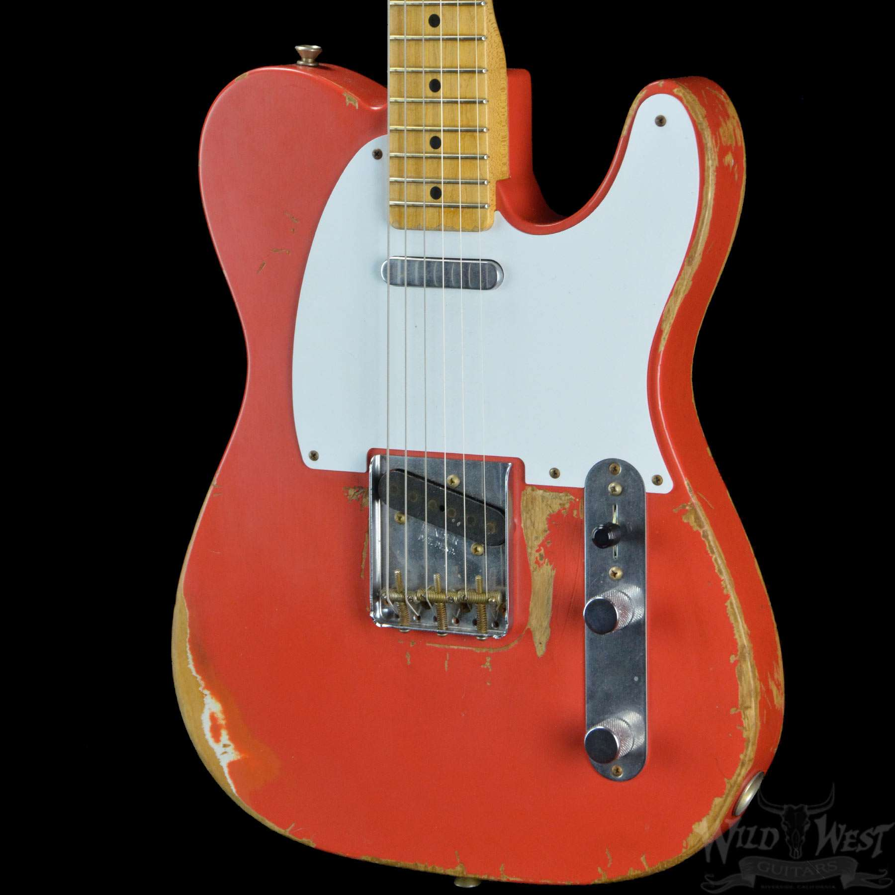 Modern Telecaster Wiring Example Electrical Diagram Schematic For Fender 1958 Namm 2008 Heavy Relic Fiesta Red Player