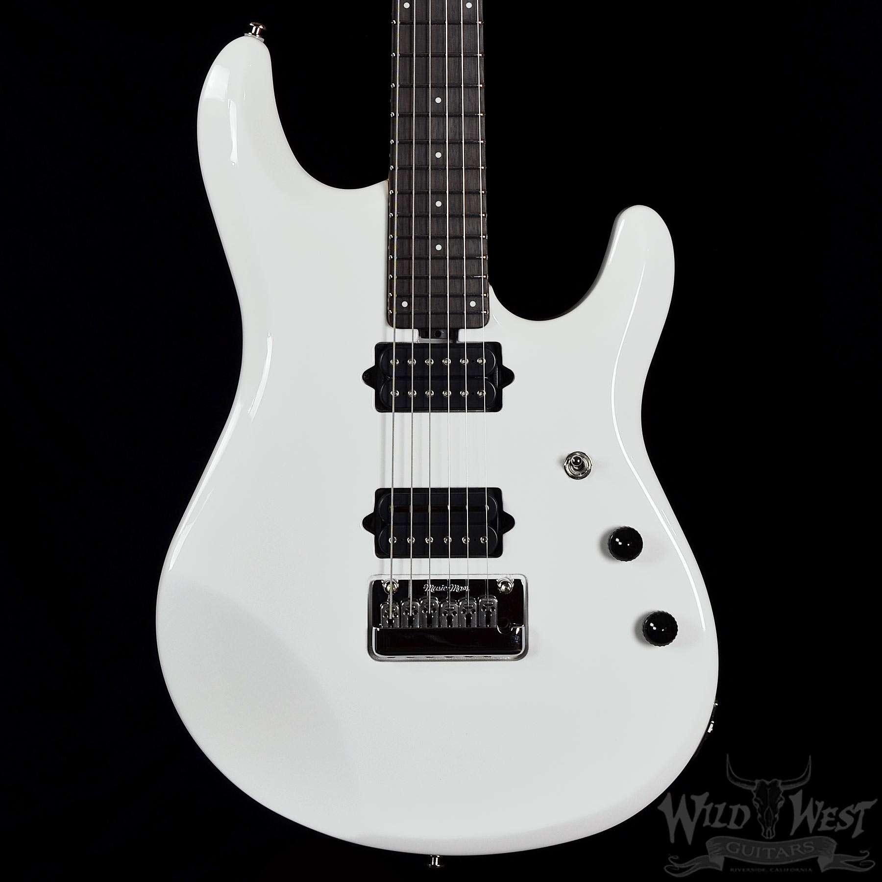 ernie ball music man petrucci jp6 white pearl wild west guitars. Black Bedroom Furniture Sets. Home Design Ideas