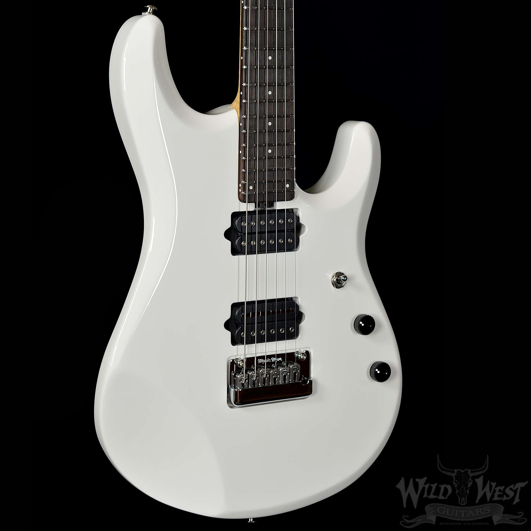 Ernie Ball Music Man Petrucci JP6 White Pearl - Wild West Guitars