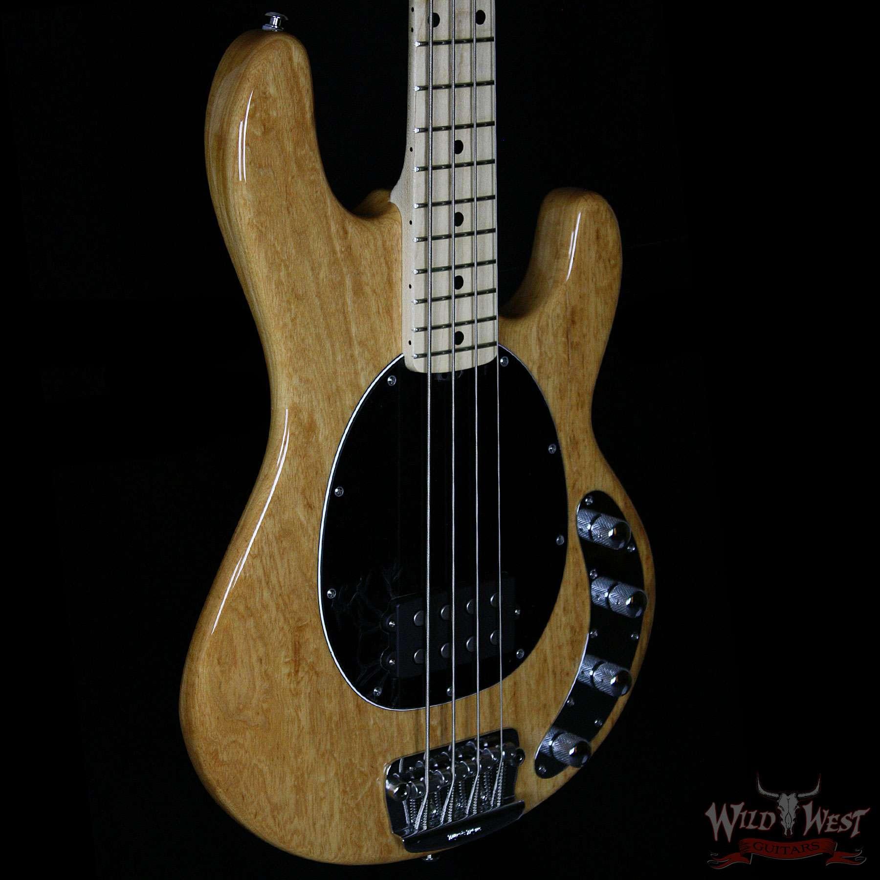 ernie ball music man stingray 4 string bass natural gloss wild west guitars. Black Bedroom Furniture Sets. Home Design Ideas
