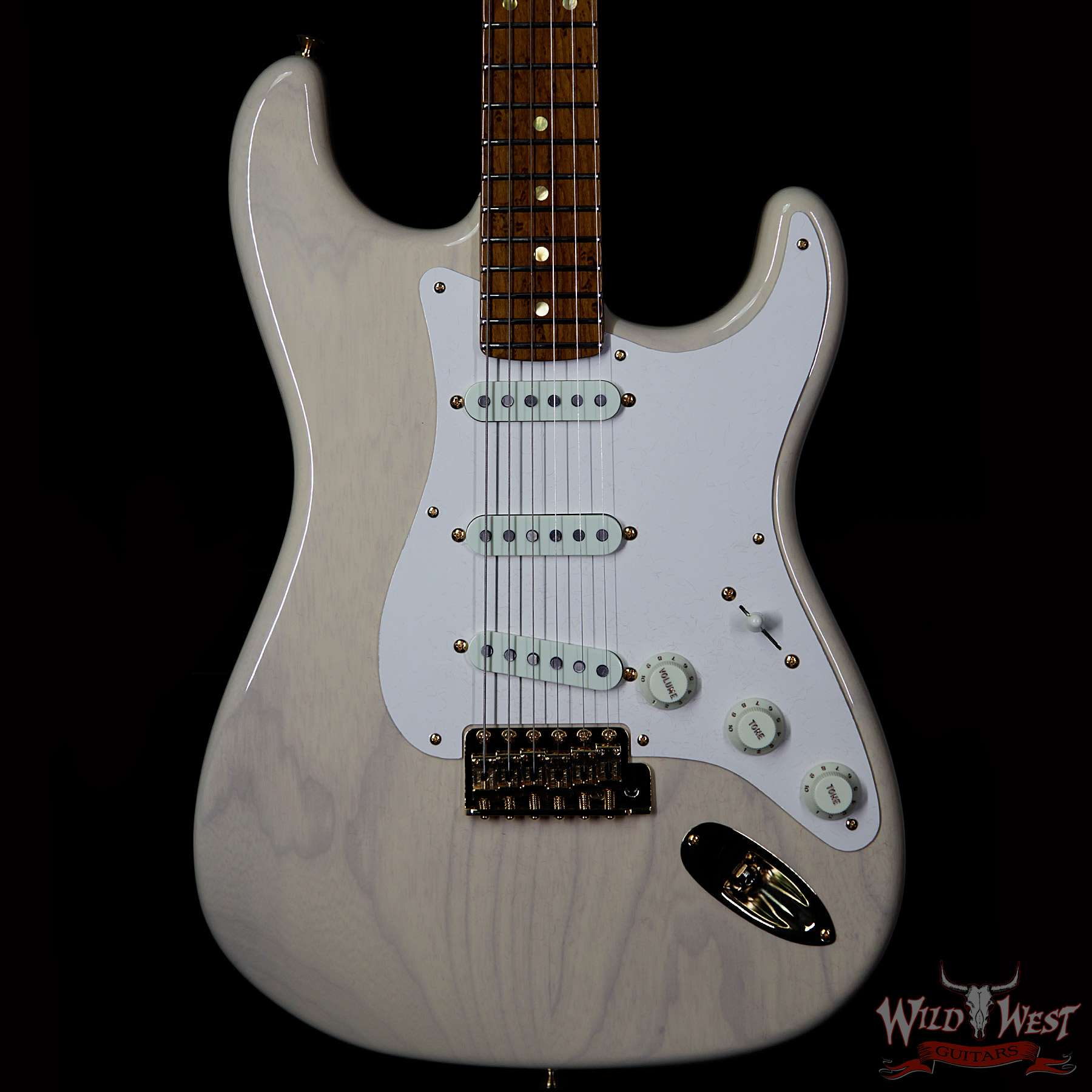 fender custom shop 2017 namm ltd roasted neck american custom stratocaster nos vintage blonde. Black Bedroom Furniture Sets. Home Design Ideas
