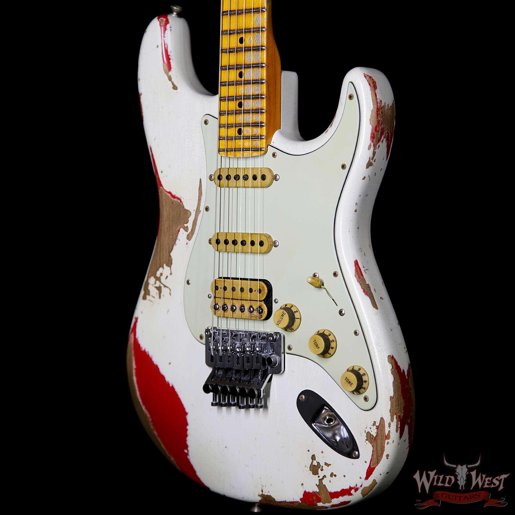 Fender Custom Shop White Lightning FR Stratocaster Heavy