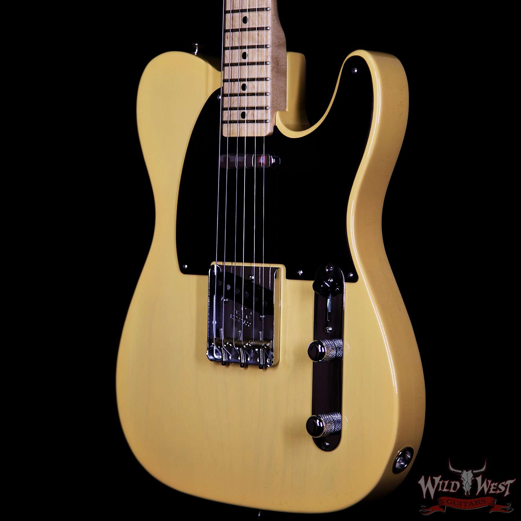 fender usa american vintage 52 1952 telecaster maple neck butterscotch blonde wild west guitars. Black Bedroom Furniture Sets. Home Design Ideas