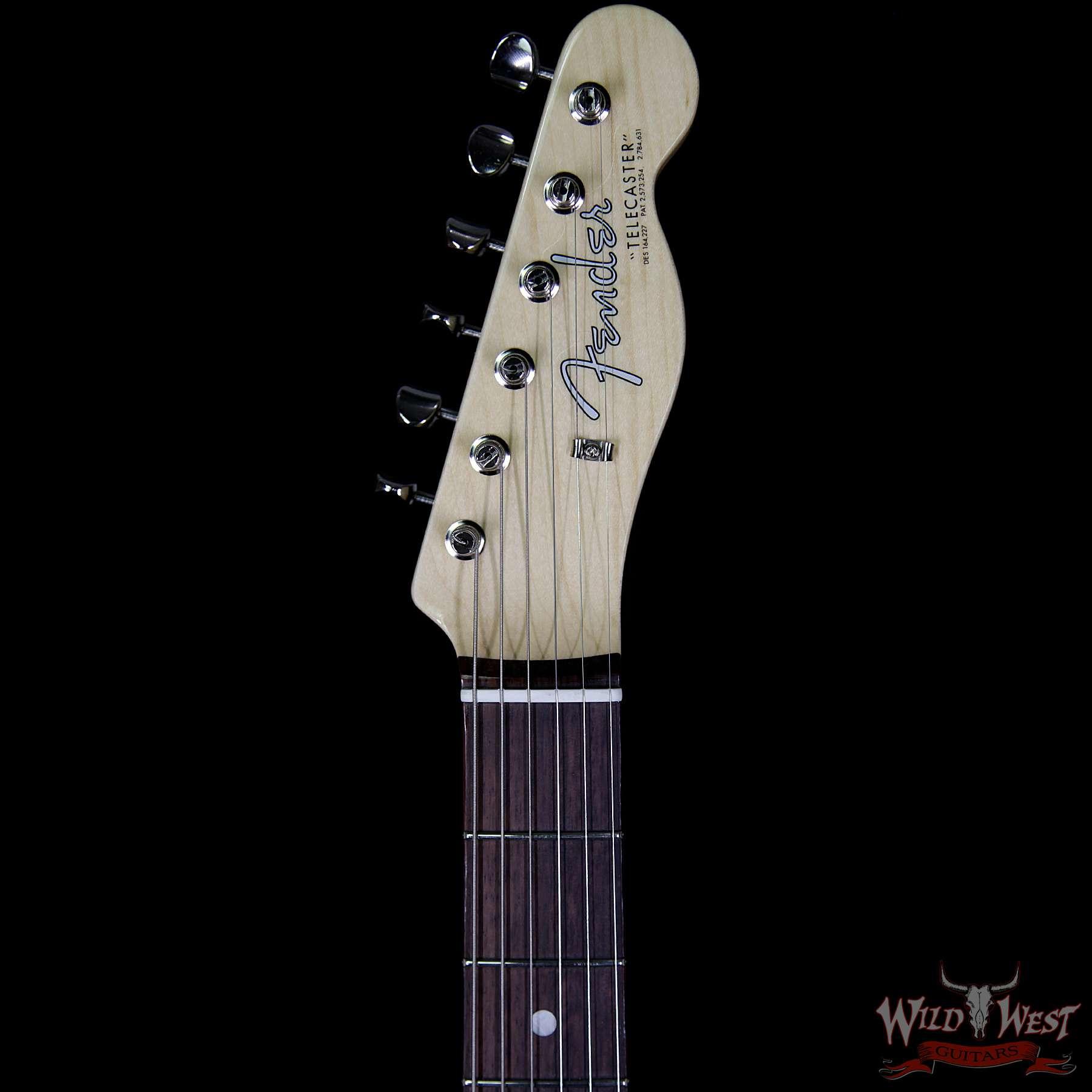 fender usa american vintage 64 telecaster rosewood fretboard white blonde wild west guitars. Black Bedroom Furniture Sets. Home Design Ideas