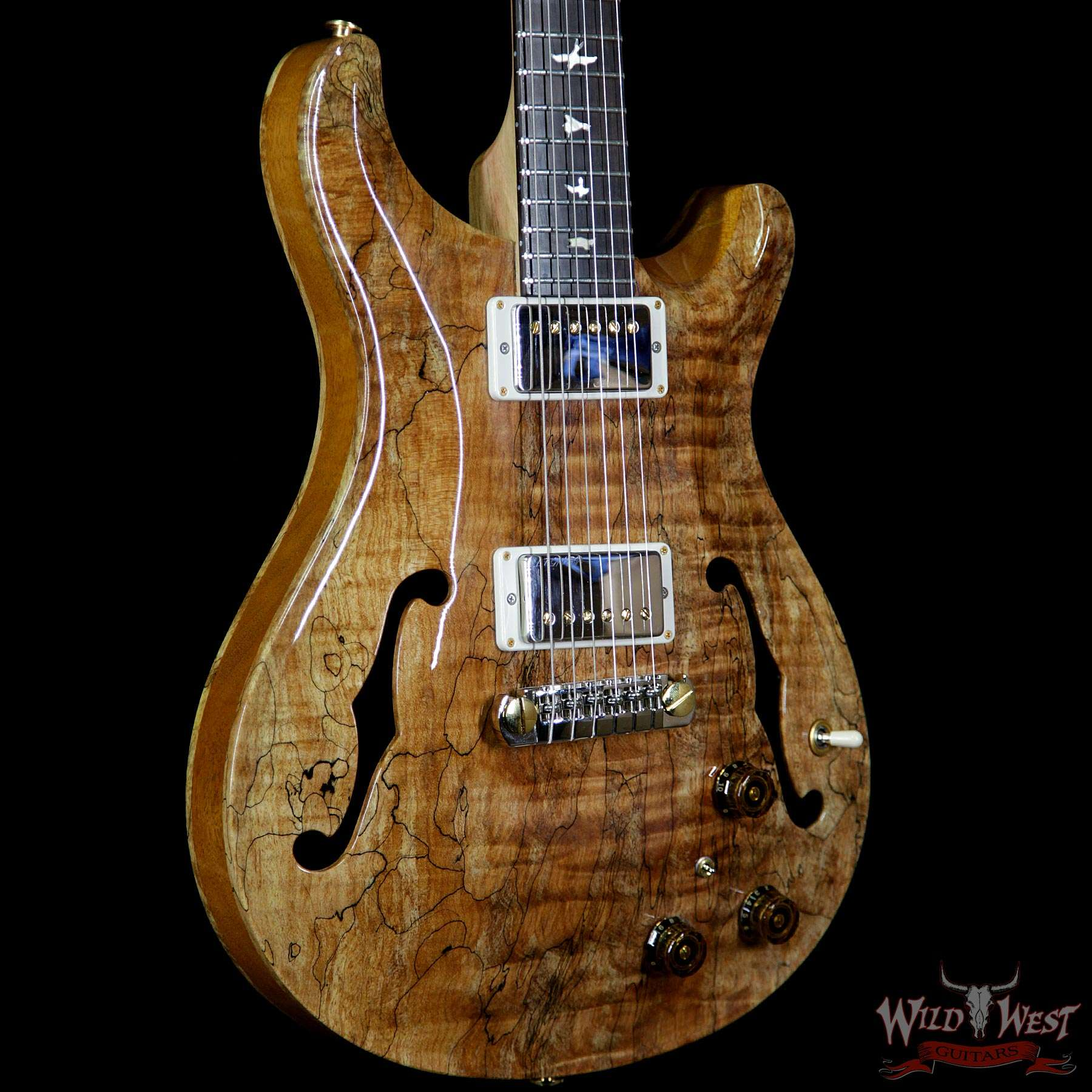 prs private stock ps8056 hollowbody ii piezo spalted maple top tulip neck brazilian rosewood. Black Bedroom Furniture Sets. Home Design Ideas
