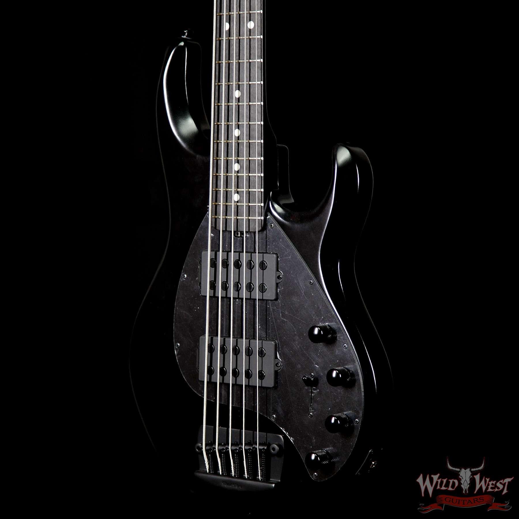 Ernie Ball Music Man Stingray5 Hh 5 Sting Bass Stealth Black Wild