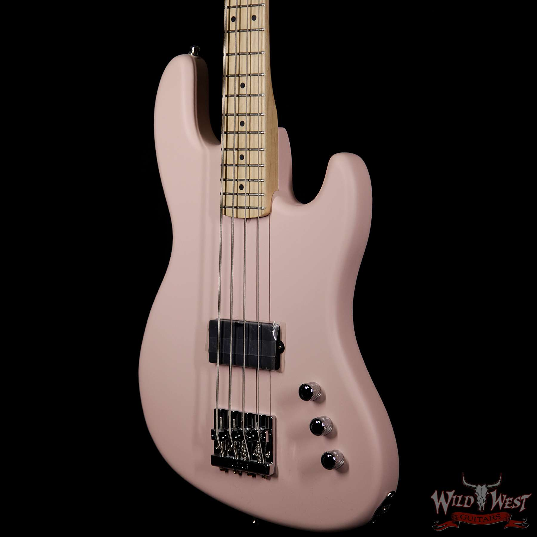 fender usa flea signature active jazz bass shell pink wild west guitars. Black Bedroom Furniture Sets. Home Design Ideas