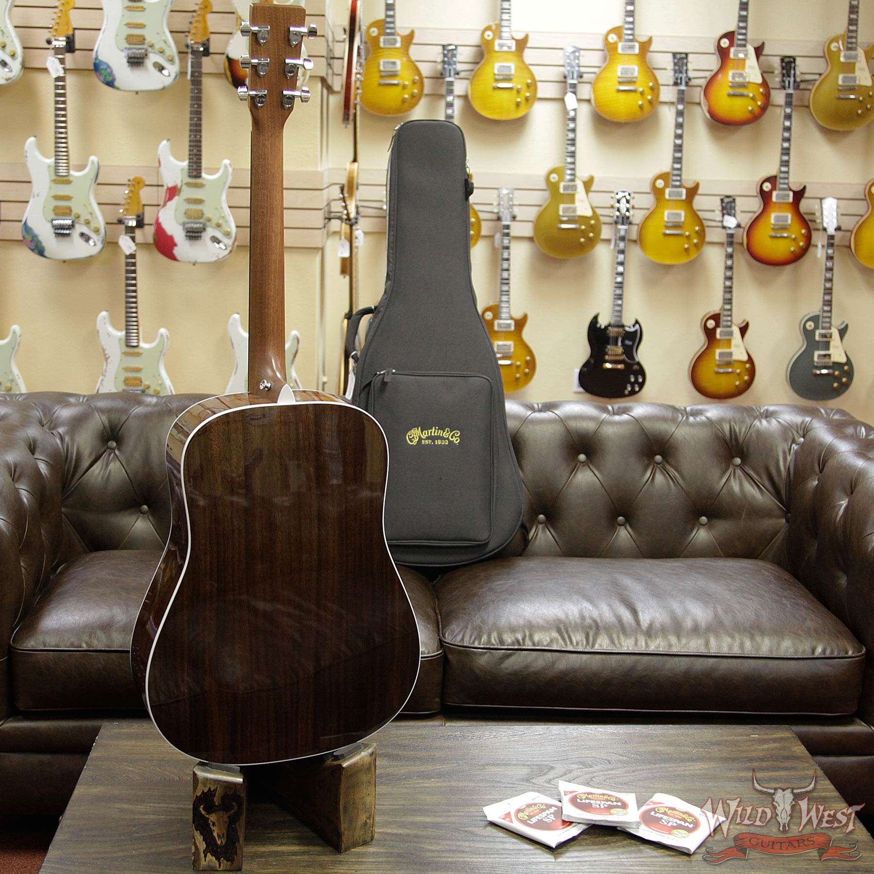 martin road series d 13e electric acoustic guitar w 3 sets of lifespan sp strings wild west. Black Bedroom Furniture Sets. Home Design Ideas