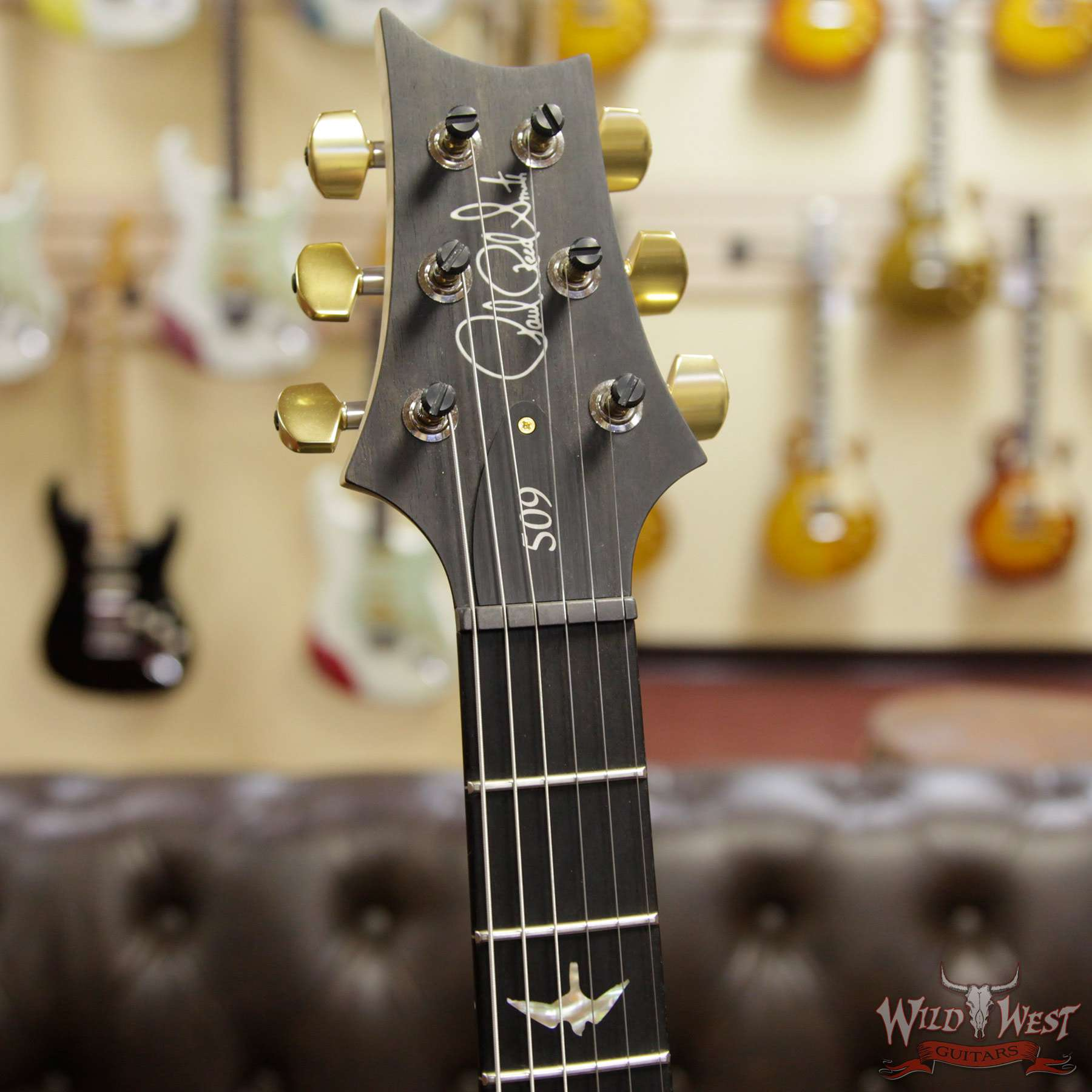 prs artist package 509 quilt maple top with flame maple neck ebony fingerboard red tiger. Black Bedroom Furniture Sets. Home Design Ideas