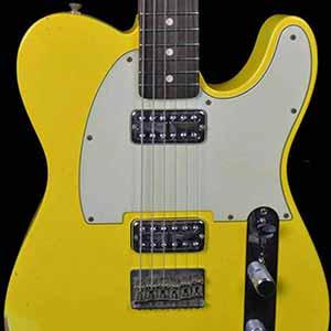 fender 1963 custom relic telecaster tv jones classic pickups faded gaffiti yellow wild west. Black Bedroom Furniture Sets. Home Design Ideas