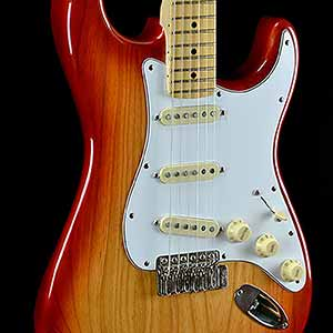 Fender American Deluxe Ash Stratocaster Cherry Burst